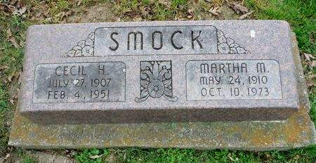 SMOCK, MARTHA M. - Clayton County, Iowa   MARTHA M. SMOCK