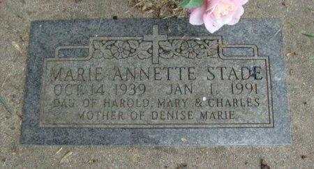 STADE, MARIE ANNETTE - Clayton County, Iowa   MARIE ANNETTE STADE