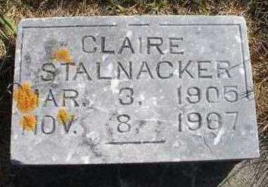 STALNAKER, CLAIRE - Clayton County, Iowa | CLAIRE STALNAKER