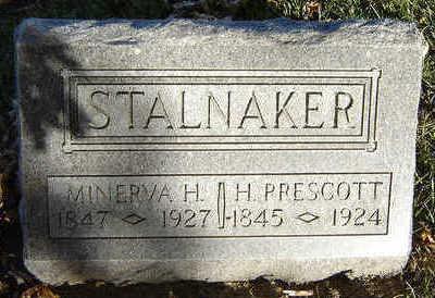 HOWES STALNAKER, MINERVA - Clayton County, Iowa | MINERVA HOWES STALNAKER