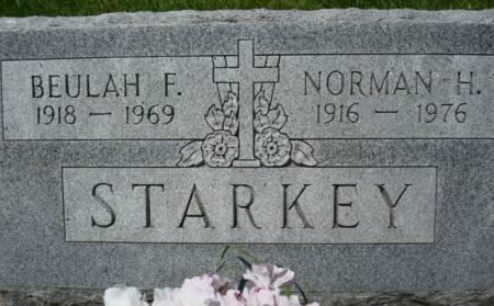 STARKEY, NORMAN H. - Clayton County, Iowa | NORMAN H. STARKEY