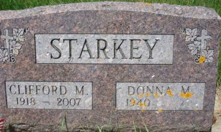 STARKEY, CLIFFORD M. - Clayton County, Iowa | CLIFFORD M. STARKEY