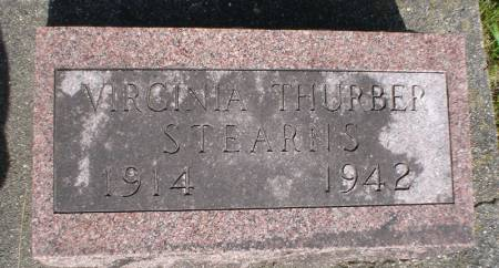 THURBER STEARNS, VIRGINIA - Clayton County, Iowa | VIRGINIA THURBER STEARNS