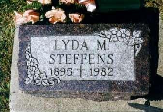 STEFFANS, LYDA MAY - Clayton County, Iowa | LYDA MAY STEFFANS