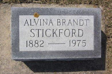 BRANDT STICKFORD, ALVINA - Clayton County, Iowa | ALVINA BRANDT STICKFORD
