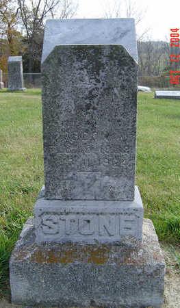 STONE, CORDON - Clayton County, Iowa   CORDON STONE