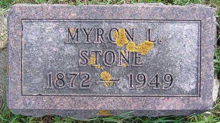 STONE, MYRON L. - Clayton County, Iowa | MYRON L. STONE