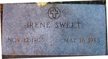 SWEET, IRENE - Clayton County, Iowa | IRENE SWEET