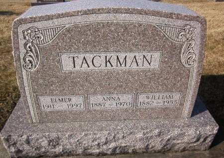 TACKMAN, WILLIAM - Clayton County, Iowa | WILLIAM TACKMAN