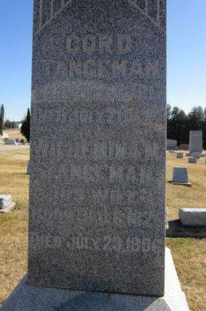 TANGEMAN, WILHEMINA M. - Clayton County, Iowa | WILHEMINA M. TANGEMAN