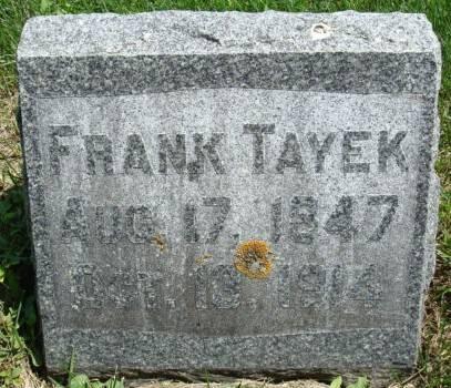 TAYEK, FRANK - Clayton County, Iowa | FRANK TAYEK