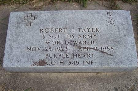 TAYEK, ROBERT J. - Clayton County, Iowa   ROBERT J. TAYEK