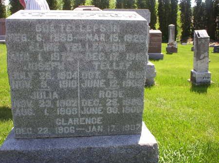 TELLEFSON, GOE - Clayton County, Iowa | GOE TELLEFSON