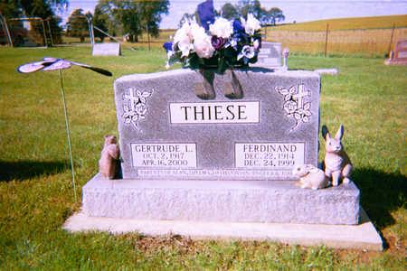 THIESE, FERDINAND - Clayton County, Iowa | FERDINAND THIESE