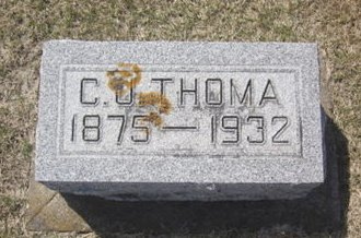 THOMA, C. U. - Clayton County, Iowa | C. U. THOMA