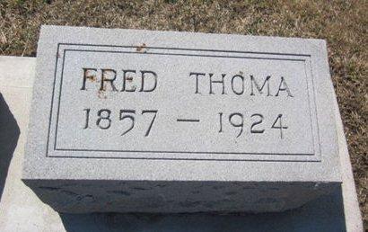 THOMA, FRED - Clayton County, Iowa   FRED THOMA