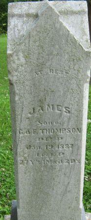 THOMPSON, JAMES - Clayton County, Iowa   JAMES THOMPSON