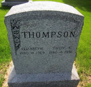 THOMPSON, THOV K. - Clayton County, Iowa | THOV K. THOMPSON