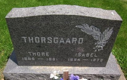 THORSGAARD, ISABEL - Clayton County, Iowa | ISABEL THORSGAARD