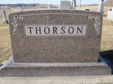 THORSON, FAMILY STONE - Clayton County, Iowa | FAMILY STONE THORSON