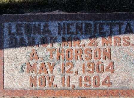 THORSON, LEONA H. - Clayton County, Iowa | LEONA H. THORSON