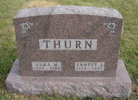 THURN, ALMA M. - Clayton County, Iowa | ALMA M. THURN