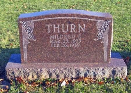 CHEVALIER THURN, MILDRED ELGENE - Clayton County, Iowa | MILDRED ELGENE CHEVALIER THURN