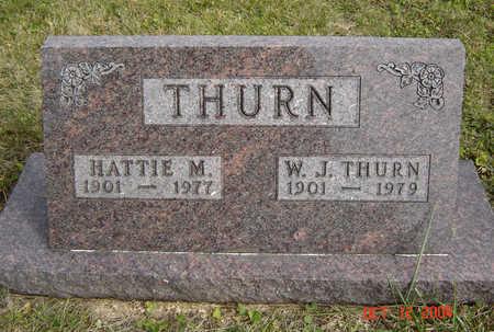 THURN, W. J. - Clayton County, Iowa | W. J. THURN
