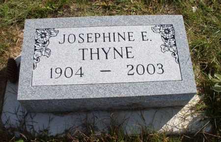 THYNE, JOSEPHINE - Clayton County, Iowa | JOSEPHINE THYNE