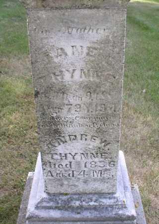 THYNNE, JANE - Clayton County, Iowa   JANE THYNNE