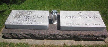 TIELBAR, WILLIS JOHN - Clayton County, Iowa | WILLIS JOHN TIELBAR