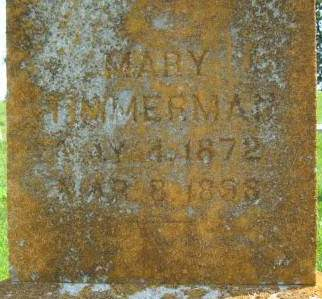 TIMMERMAN, MARY - Clayton County, Iowa | MARY TIMMERMAN
