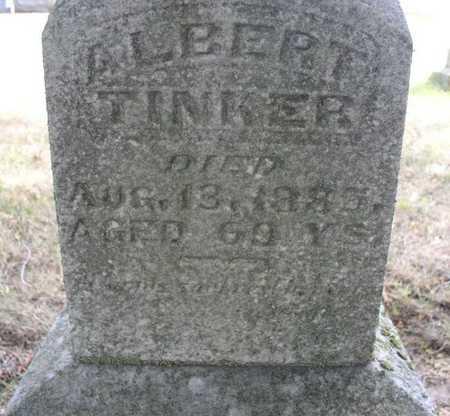 TINKER, ALBERT - Clayton County, Iowa   ALBERT TINKER