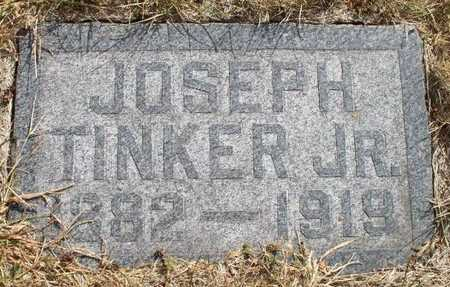 TINKER, JOSEPH JR. - Clayton County, Iowa   JOSEPH JR. TINKER