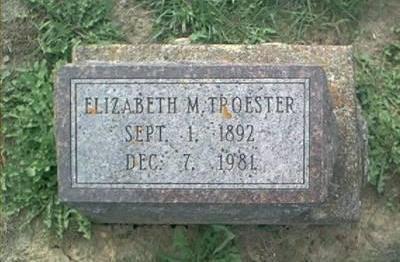 TROESTER, ELIZABETH M. - Clayton County, Iowa | ELIZABETH M. TROESTER