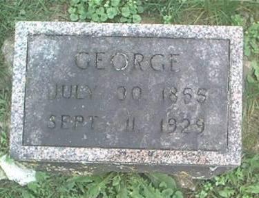 TROESTER, GEORGE - Clayton County, Iowa   GEORGE TROESTER
