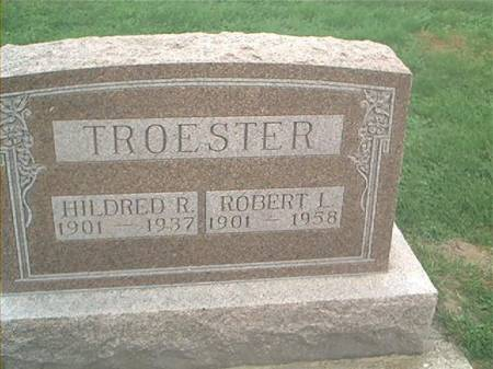 TROESTER, ROBERT L. & HILDRED R. - Clayton County, Iowa | ROBERT L. & HILDRED R. TROESTER