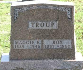 WESLEY TROUP, MAGGIE E. - Clayton County, Iowa | MAGGIE E. WESLEY TROUP