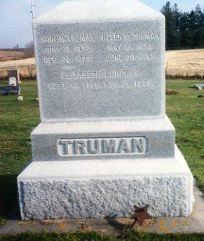 TRUMAN, JOHN M. - Clayton County, Iowa | JOHN M. TRUMAN