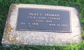 TRUMAN, SILAS C. - Clayton County, Iowa | SILAS C. TRUMAN
