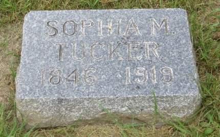 TUCKER, SOPHIA M. - Clayton County, Iowa | SOPHIA M. TUCKER