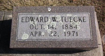 TUECKE, EDWARD W. - Clayton County, Iowa | EDWARD W. TUECKE