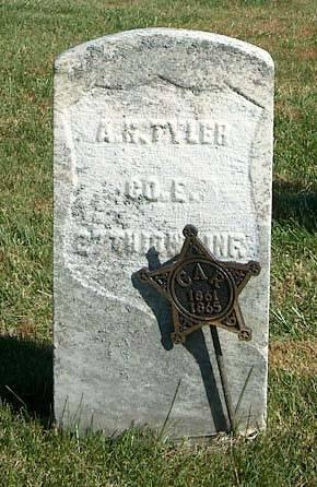TYLER, ARZA H. - Clayton County, Iowa | ARZA H. TYLER