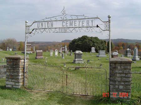 UNION, CEMETERY - Clayton County, Iowa   CEMETERY UNION