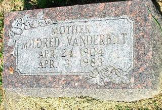 SHAW VANDERBILT, MILDRED - Clayton County, Iowa | MILDRED SHAW VANDERBILT