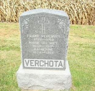 VERCHOTA, MARIE - Clayton County, Iowa | MARIE VERCHOTA