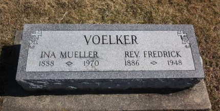VOELKER, FREDRICK REV. - Clayton County, Iowa | FREDRICK REV. VOELKER