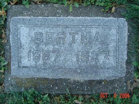 VONTALGE, BERTHA - Clayton County, Iowa | BERTHA VONTALGE