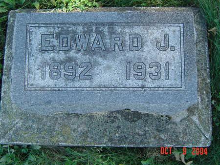 VONTALGE, EDWARD J. - Clayton County, Iowa | EDWARD J. VONTALGE