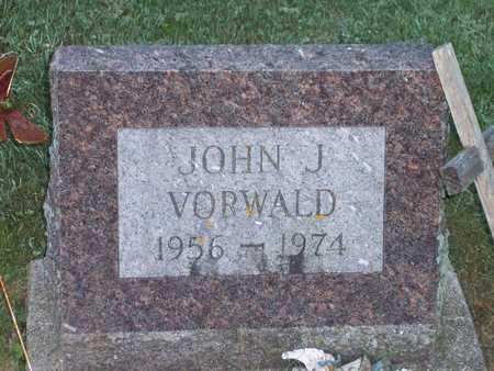 VORWALD, JOHN J. - Clayton County, Iowa | JOHN J. VORWALD